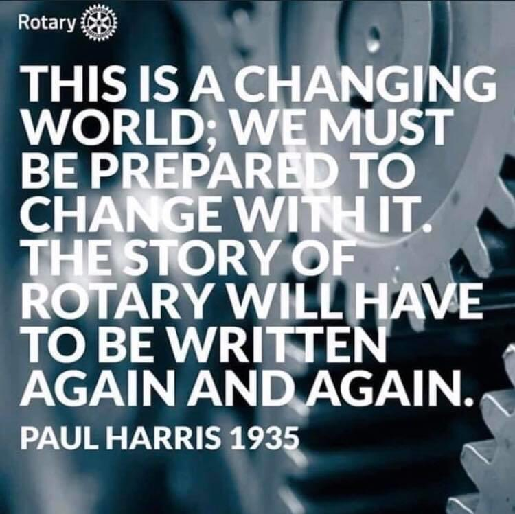 Changing World quote by Paul Harris