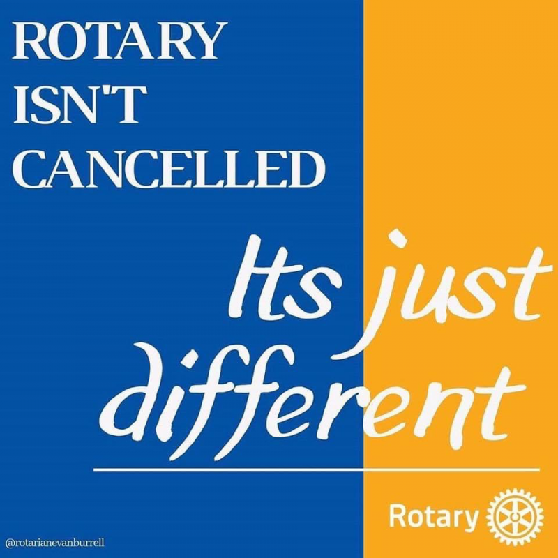 Rotary NOT Cancelled